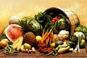 Verduras frutas y hortalizas